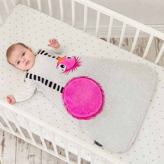 Blankets & Sleeping Bags BABY SLEEPING BAG OCTAVIA OSTRICH Pitter Patter Baby NI 4