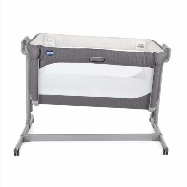 Cribs & Next2Me Cribs Chicco Next 2 Me Magic Baby Crib – Moon Grey Pitter Patter Baby NI 5