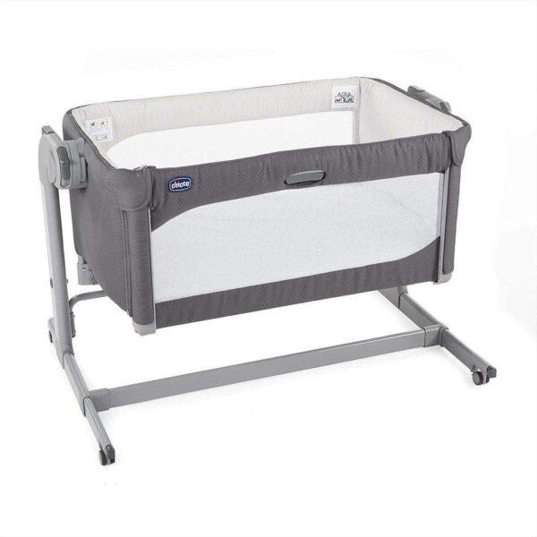 Cribs & Next2Me Cribs Chicco Next 2 Me Magic Baby Crib – Moon Grey Pitter Patter Baby NI 7