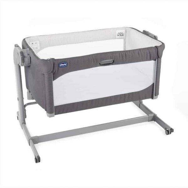 Cribs & Next2Me Cribs Chicco Next 2 Me Magic Baby Crib – Moon Grey Pitter Patter Baby NI 4