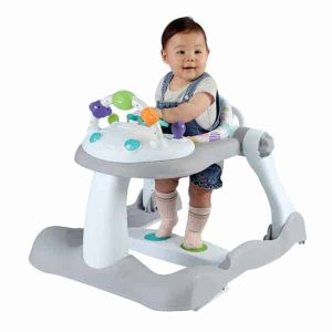 Babylo Combo 3-in-1 Walker (Grey/White)