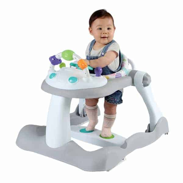 Bouncers & Rockers Babylo Combo 3-in-1 Walker (Grey/White) Pitter Patter Baby NI 4