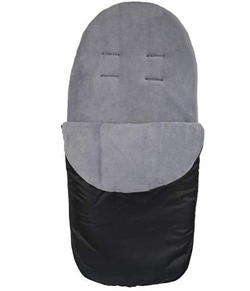 Accessories & Footmuffs Showerproof Fleece Lined Footmuff (grey) Pitter Patter Baby NI 4