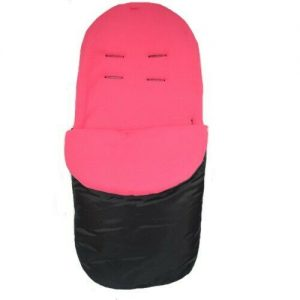 Showerproof Fleece Lined Footmuff  (Pink)