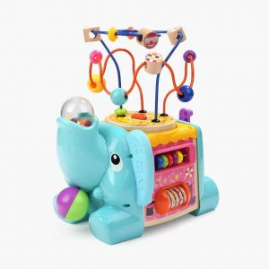 5 IN 1 ELEPHANT ACTIVITY CUBE