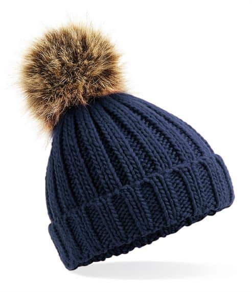winter hats Infant Fur Pom Pom hat Pitter Patter Baby NI 6