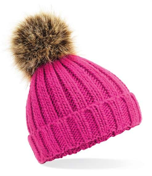 winter hats Infant Fur Pom Pom hat Pitter Patter Baby NI 3