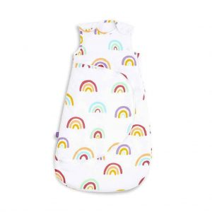 Blankets & Sleeping Bags SnuzPouch Sleeping Bag – 2.5 TOG – Multi Rainbow Pitter Patter Baby NI