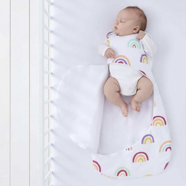 Blankets & Sleeping Bags SnuzPouch Sleeping Bag – 2.5 TOG – Multi Rainbow Pitter Patter Baby NI 7