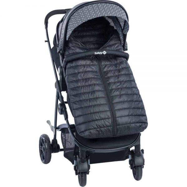Accessories & Footmuffs Safety 1st BabyDoune Footmuff (Black) Pitter Patter Baby NI 6