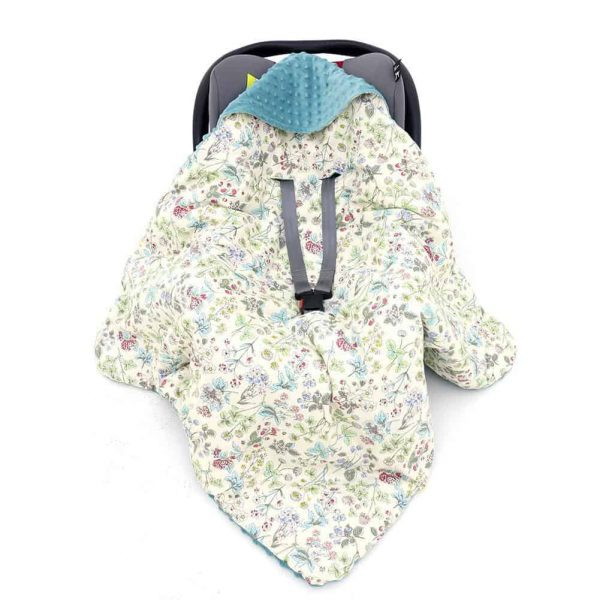 Accessories & Footmuffs Little Love Carseat Blankets Pitter Patter Baby NI 21