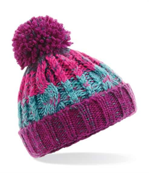 winter hats Infant Corkscrew Pom Pom Hat Pitter Patter Baby NI 7