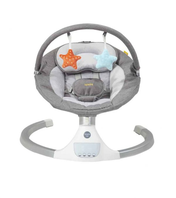 Bouncers & Rockers Hub Electric Swing Pitter Patter Baby NI 4
