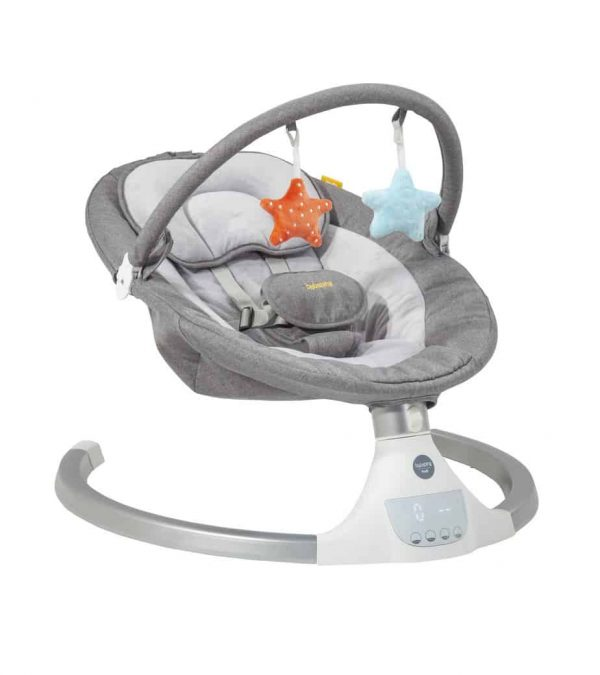 Bouncers & Rockers Hub Electric Swing Pitter Patter Baby NI 6