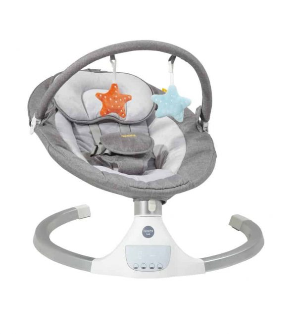 Bouncers & Rockers Hub Electric Swing Pitter Patter Baby NI 7