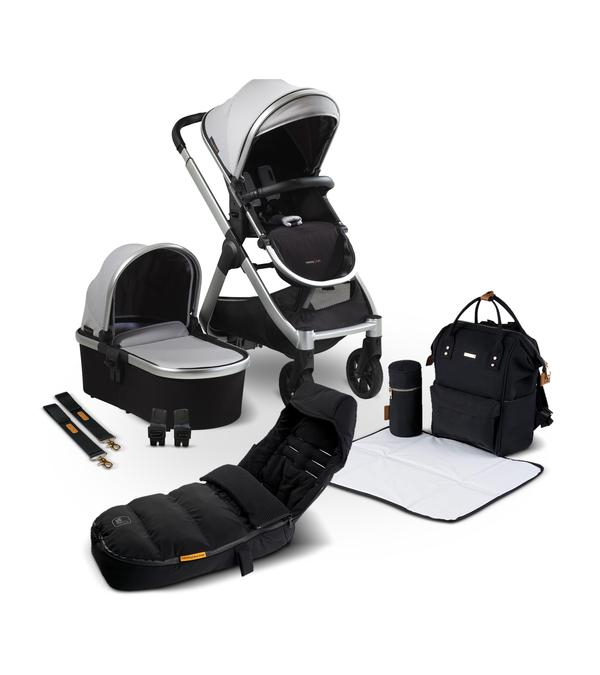 Travel Systems RAFFI 3-IN-1 TRAVEL SYSTEM 9 PIECE BUNDLE Pitter Patter Baby NI 4