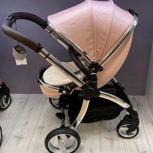 egg stroller blush with newborn insert – ex display