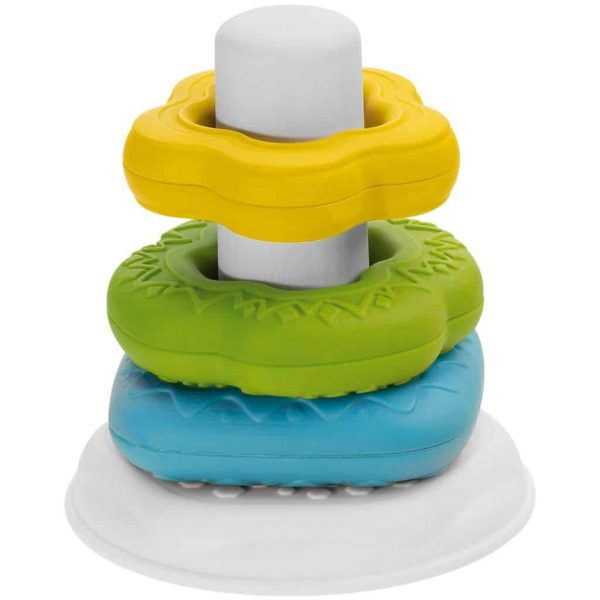 sensory toys Chicco 2-in-1 Ring Tower Pitter Patter Baby NI 6