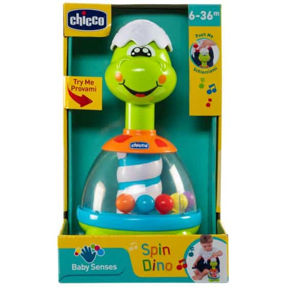 Toys Chicco Dino Spin Pitter Patter Baby NI 6