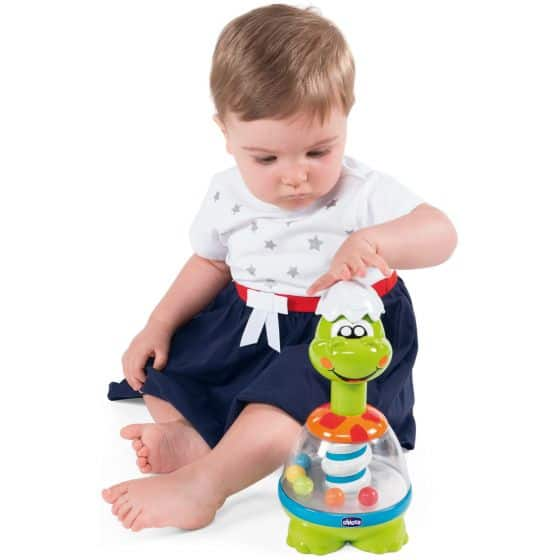 Toys Chicco Dino Spin Pitter Patter Baby NI 4