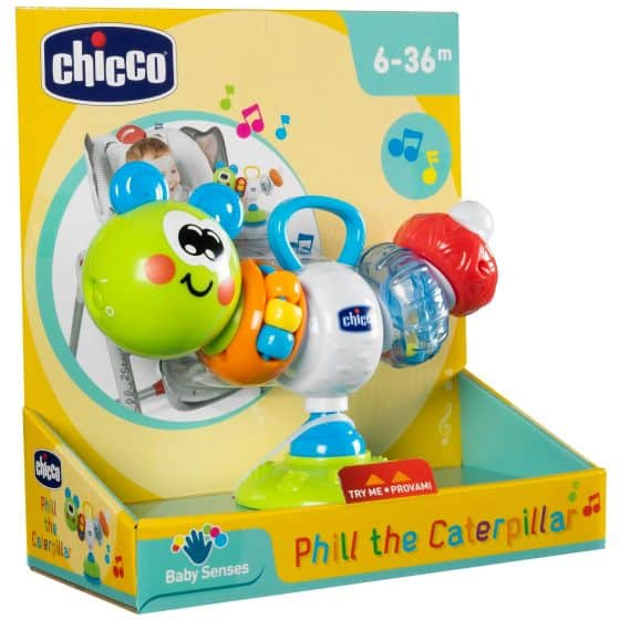 Toys Chicco Phil the Caterpillar Pitter Patter Baby NI 4