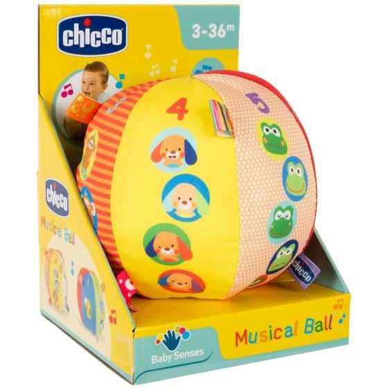 Christmas Chicco Musical Ball Pitter Patter Baby NI 4
