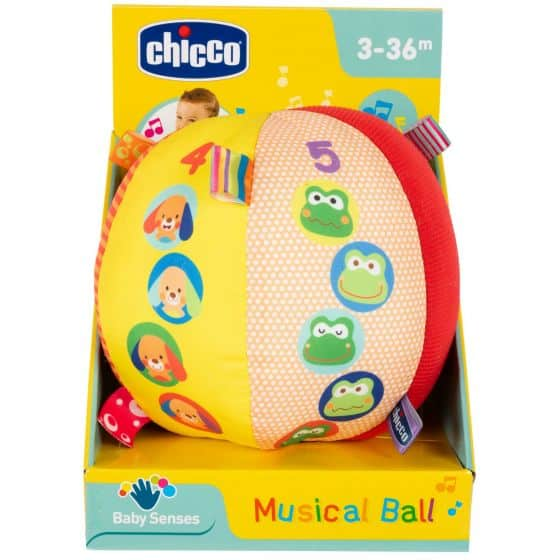 Toys Chicco Musical Ball Pitter Patter Baby NI 8