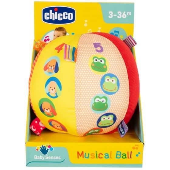 Christmas Chicco Musical Ball Pitter Patter Baby NI 8
