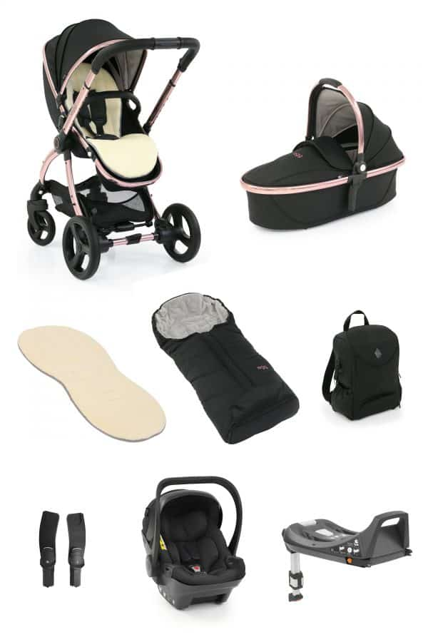 Travel Systems Egg2 Diamond Black Special Edition Bundle Pitter Patter Baby NI 4