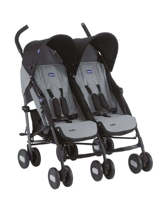 Twin & Double Pushchairs Echo Twin Pushchair Pitter Patter Baby NI 4