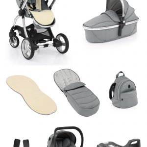 Travel Systems egg2 Monument Grey Bundle Pitter Patter Baby NI
