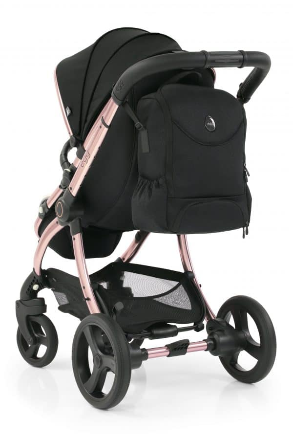 Travel Systems egg2 Diamond Black Stroller, Carrycot & backpack Pitter Patter Baby NI 14