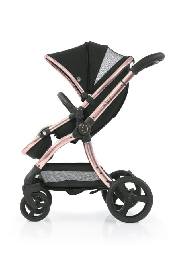Travel Systems egg2 Diamond Black Stroller, Carrycot & backpack Pitter Patter Baby NI 9