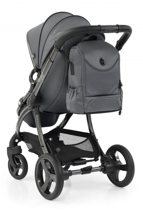 Travel Systems egg Jurassic Grey Stroller, Carrycot & Backpack Pitter Patter Baby NI 13
