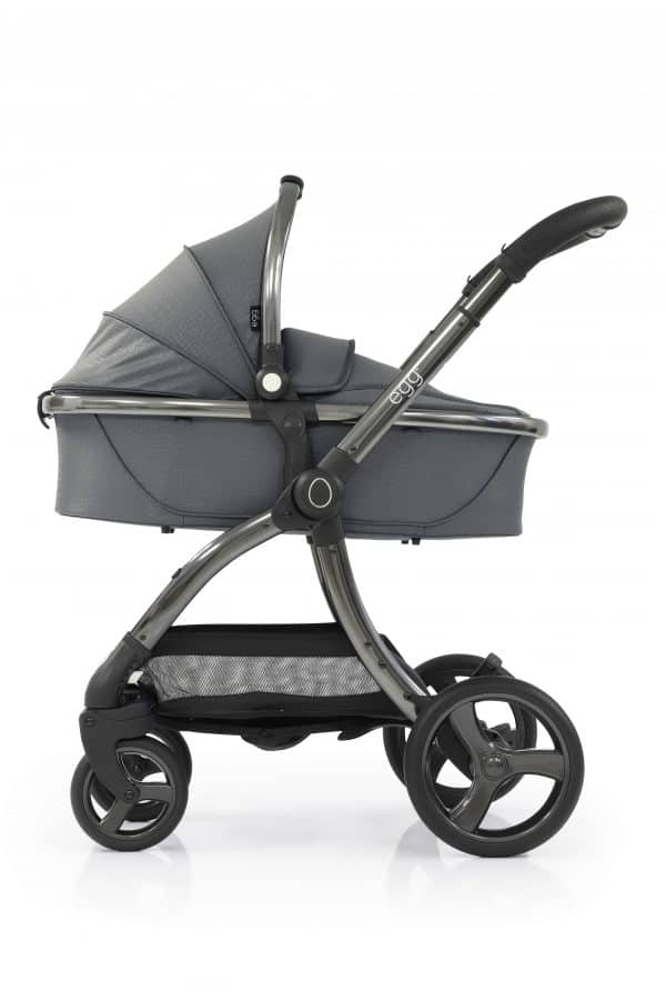 Travel Systems egg Jurassic Grey Stroller, Carrycot & Backpack Pitter Patter Baby NI 4