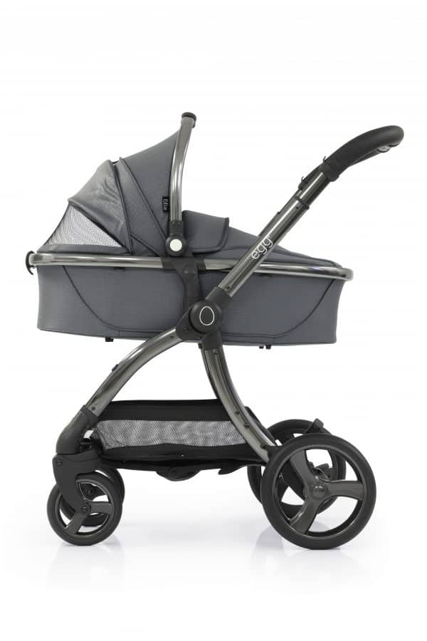 Travel Systems egg Jurassic Grey Stroller, Carrycot & Backpack Pitter Patter Baby NI 6