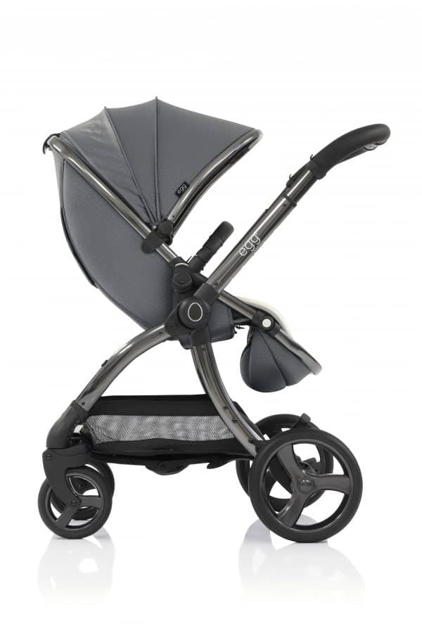 Travel Systems egg Jurassic Grey Stroller, Carrycot & Backpack Pitter Patter Baby NI 7