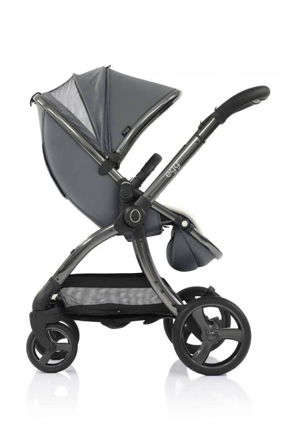 Travel Systems egg Jurassic Grey Stroller, Carrycot & Backpack Pitter Patter Baby NI 8