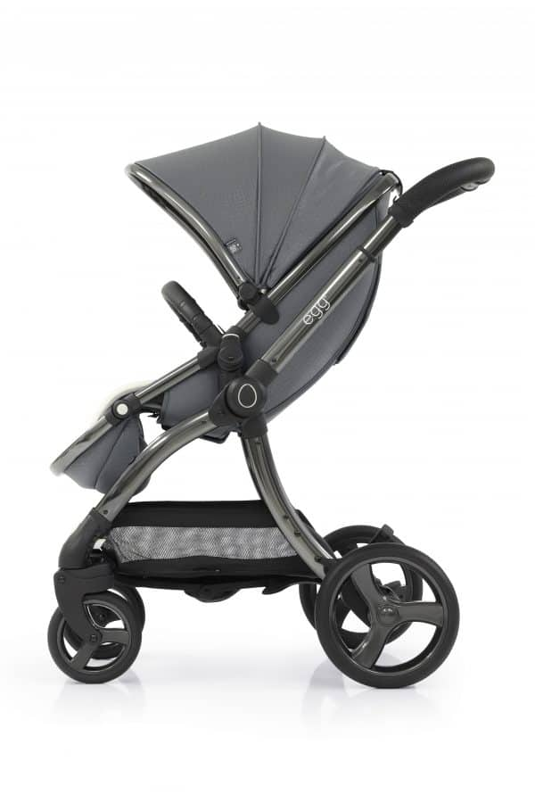 Travel Systems egg Jurassic Grey Stroller, Carrycot & Backpack Pitter Patter Baby NI 9