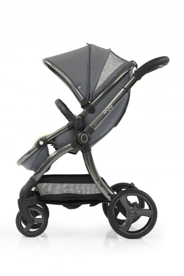 Travel Systems egg Jurassic Grey Stroller, Carrycot & Backpack Pitter Patter Baby NI 10