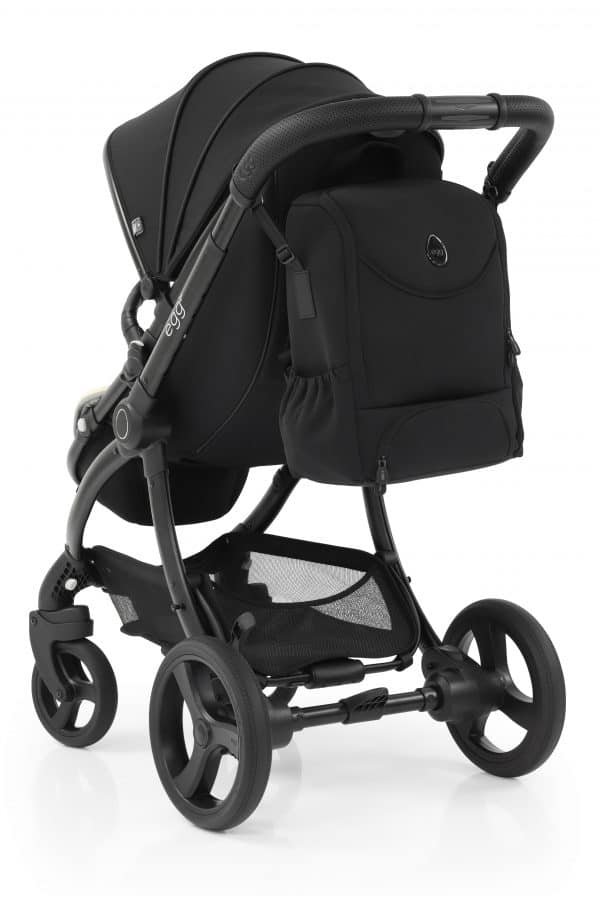Travel Systems egg2 Just black Stroller, Carrycot & Backpack Pitter Patter Baby NI 12
