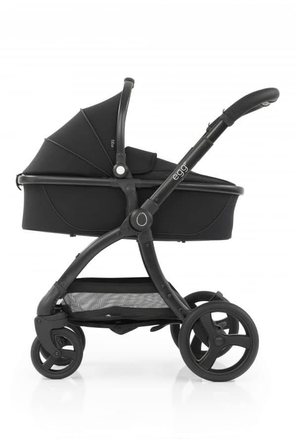 Travel Systems egg2 Just black Stroller, Carrycot & Backpack Pitter Patter Baby NI 4