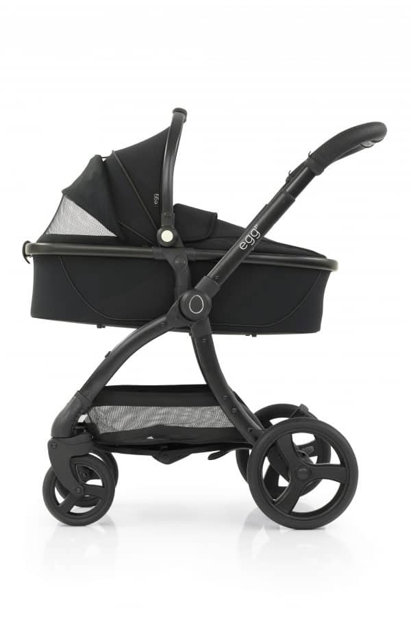 Travel Systems egg2 Just black Stroller, Carrycot & Backpack Pitter Patter Baby NI 6