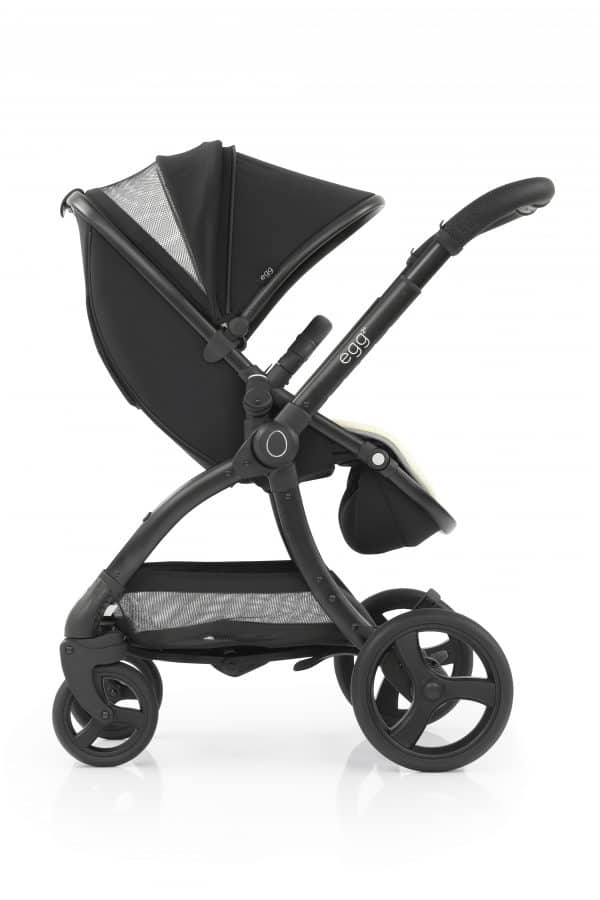 Travel Systems egg2 Just black Stroller, Carrycot & Backpack Pitter Patter Baby NI 8