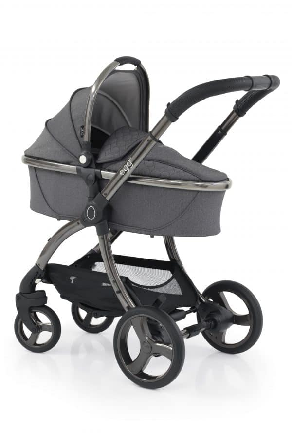 Egg Egg 2 Stroller & Carrycot with Tinca Carseat & Base Pitter Patter Baby NI 10