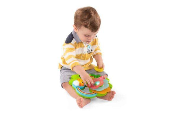 sensory toys Chicco Sensory Flower Pitter Patter Baby NI 6
