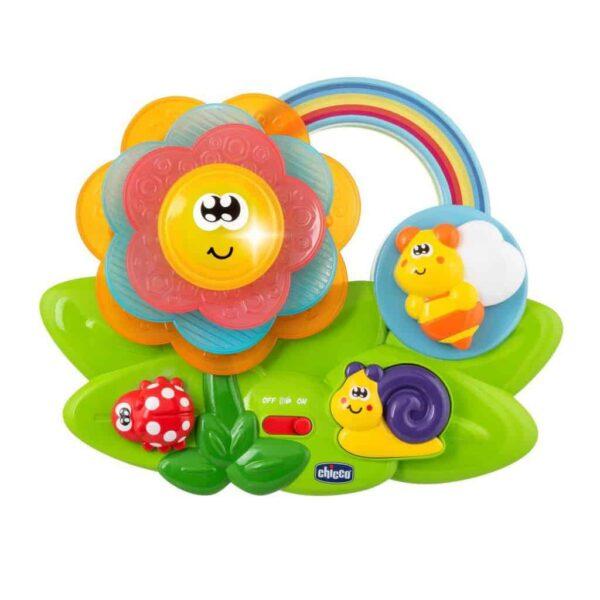sensory toys Chicco Sensory Flower Pitter Patter Baby NI 4