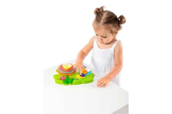 sensory toys Chicco Sensory Flower Pitter Patter Baby NI 8