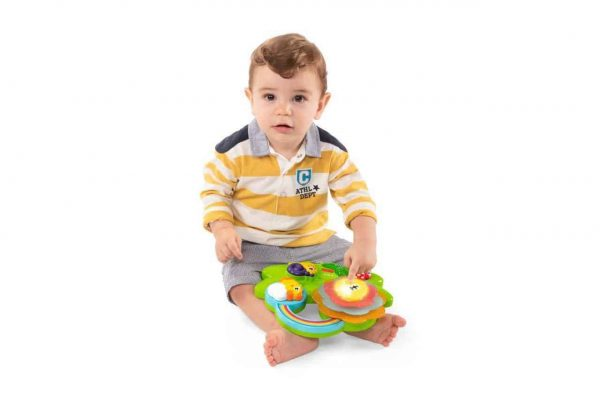 sensory toys Chicco Sensory Flower Pitter Patter Baby NI 9
