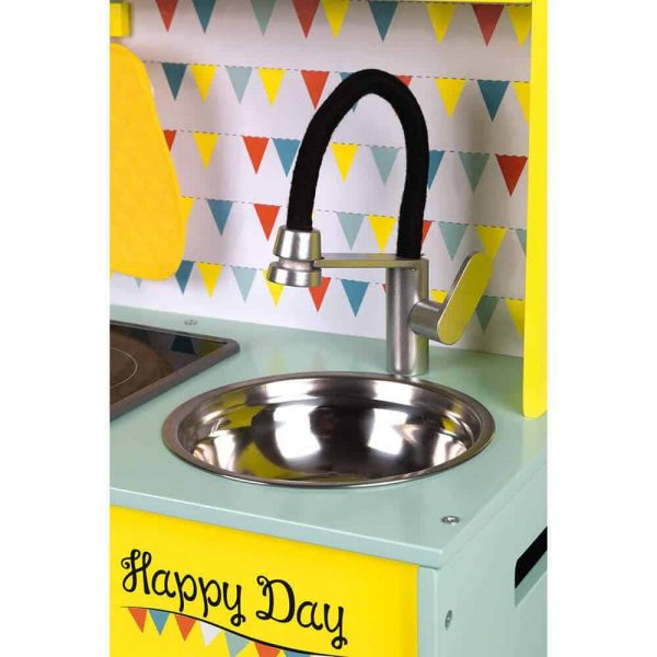 Wooden Toys Happy Day Big Cooker Pitter Patter Baby NI 7
